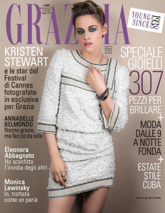 Kristen Stewart in Grazia Magazine (Italy May 2018)