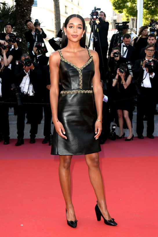 Laura Harrier at Cannes Film Festival 2018 Closing Ceremony