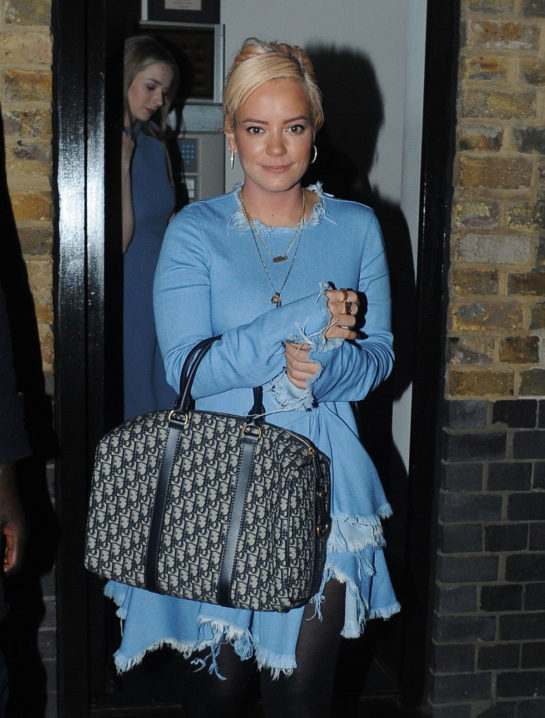 Lily Allen - Night Out in London