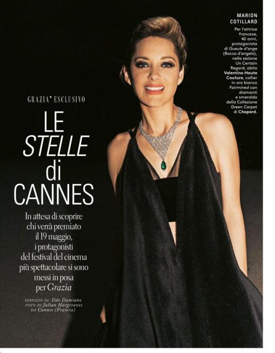 Marion Cotillard in Grazia Magazine (Italy May 2018)