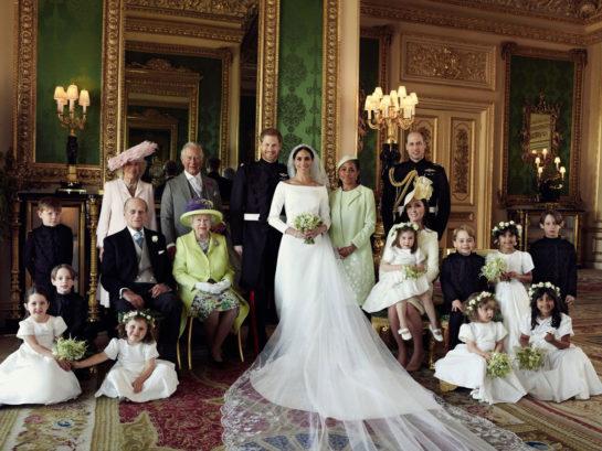 Meghan Markle & Prince Harry – Official Wedding Portraits