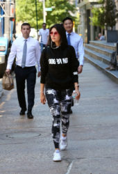 Nina Dobrev Leaves an Intense Workout in NYC