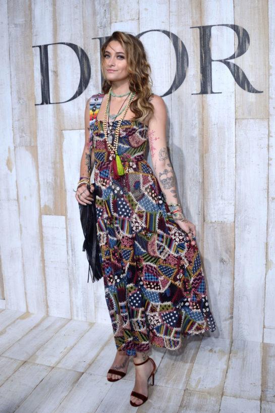 Paris Jackson at Dior cruise 2019 show in Paris