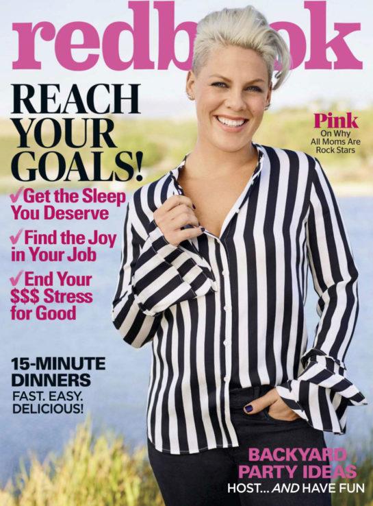 Pink in Redbook Magazine (June 2018)