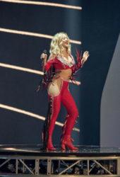Rita Ora performs at Germany's Next Top Model finale in Duesseldorf