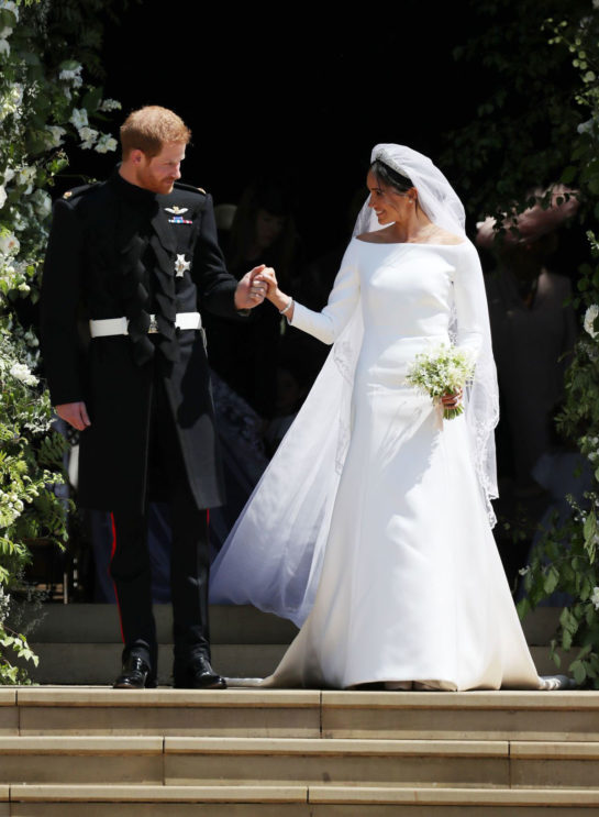 Royal Wedding of Prince Harry and Meghan Markle at Windsor Castle
