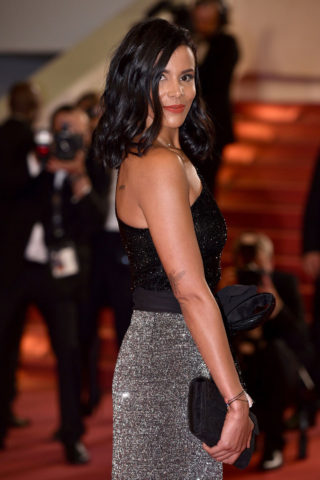 Shy'm at Cannes Film Festival 2018