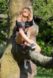 Paris Jackson Out at Central Park in New York