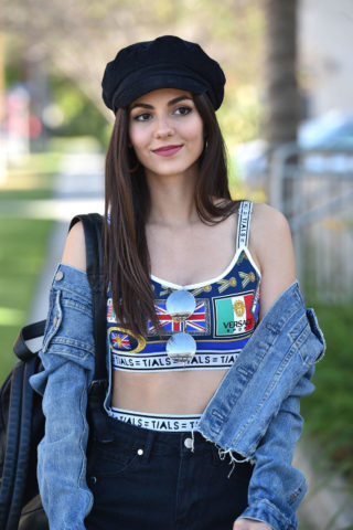 Victoria Justice Leggy in Shorts – Out in Los Angeles