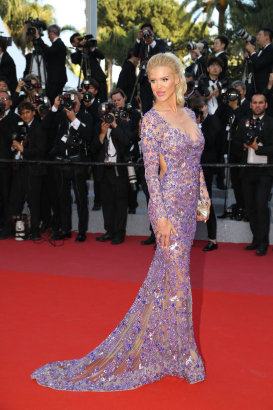 Victoria Silvstedt at Cannes Film Festival 2018