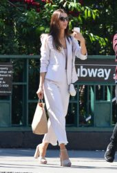 Angela Sarafyan Out in New York
