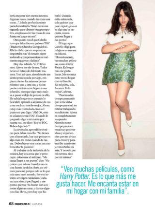 Camila Cabello in Cosmopolitan Magazine (Chile June 2018)