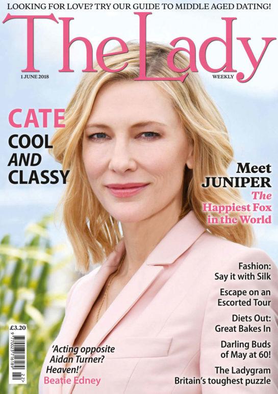 Cate Blanchett - The Lady Magazine (June 2018)