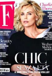 Charlize Theron in F Magazine (Italy June 2018)
