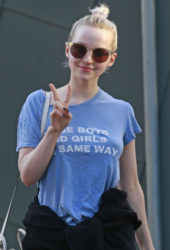 Dove Cameron Out in Vancouver
