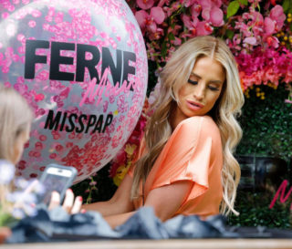Ferne McCann at MISSPAP Collection Launch in London