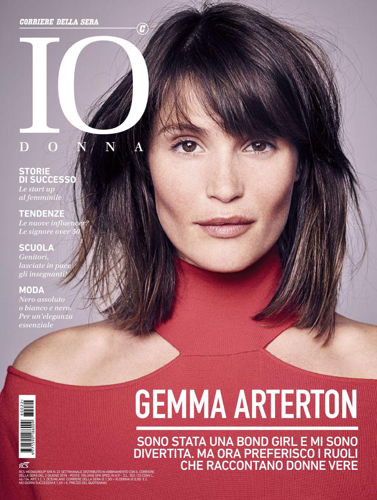 f7b0887bae7b Magazine Covers - Gemma Arterton in Io Donna Del Corriere Della Sera ...