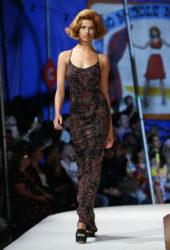Hailey Clauson at Moschino Fashion Show in LA