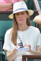 Hilary Swank – 2018 French Open at Roland Garros