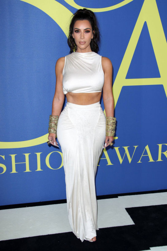 Kim Kardashian at CFDA Fashion Awards in New York