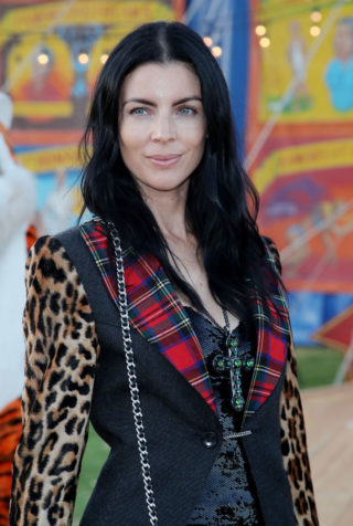 Liberty Ross at Moschino Fashion Show in LA