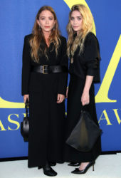 Mary-Kate and Ashley Olsen at CFDA Fashion Awards in New York