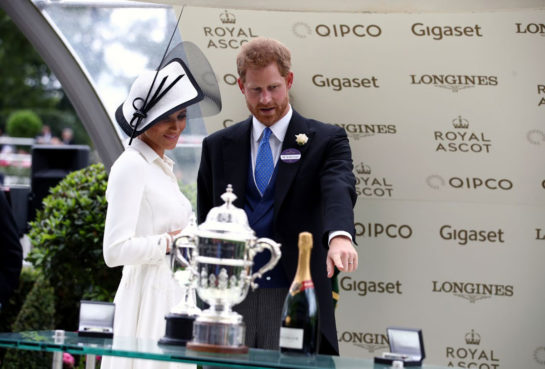 Meghan Markle – Day one of Royal Ascot in Asco