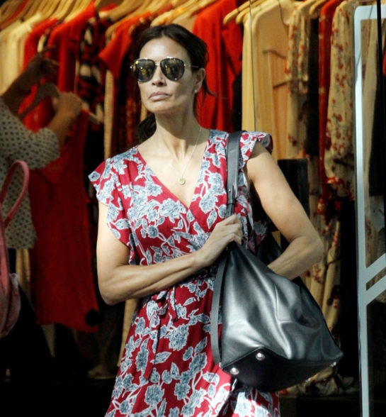 Melanie Sykes Out Shopping in London