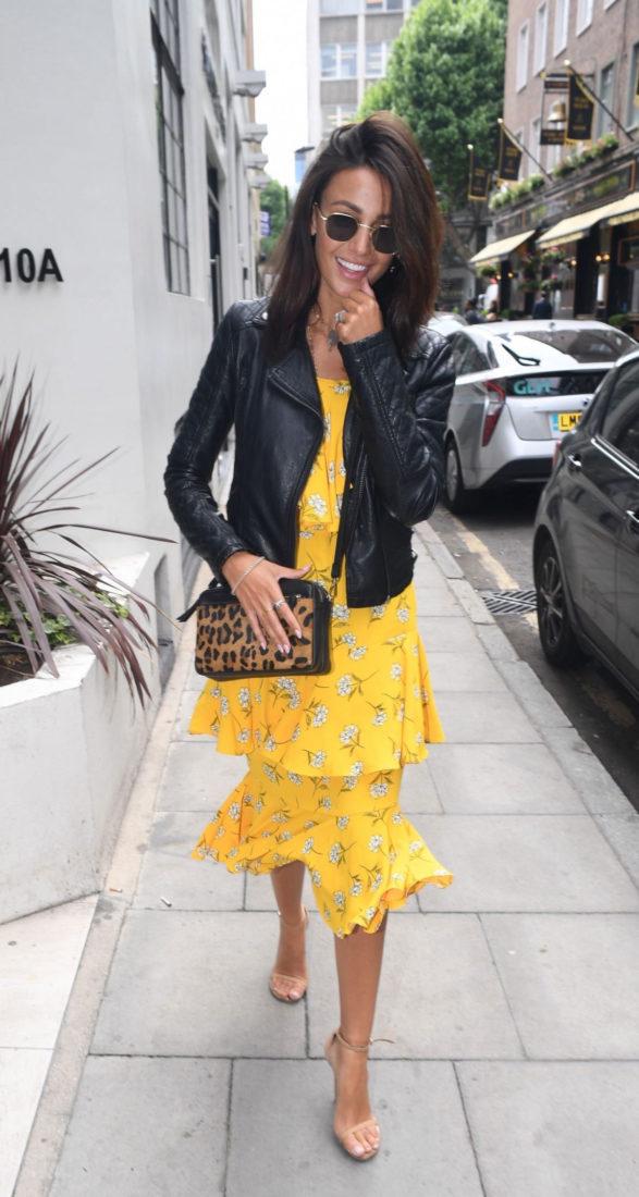 Michelle Keegan in London