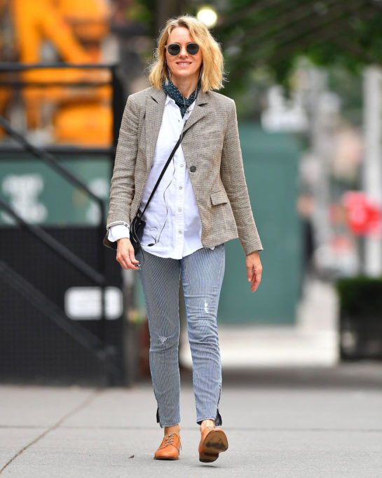 Naomi Watts Out in New York