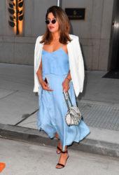 Priyanka Chopra in a Blue Dress