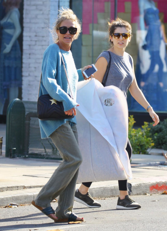 Rebecca Gayheart Out Shopping on Melrose Place in West Hollywood
