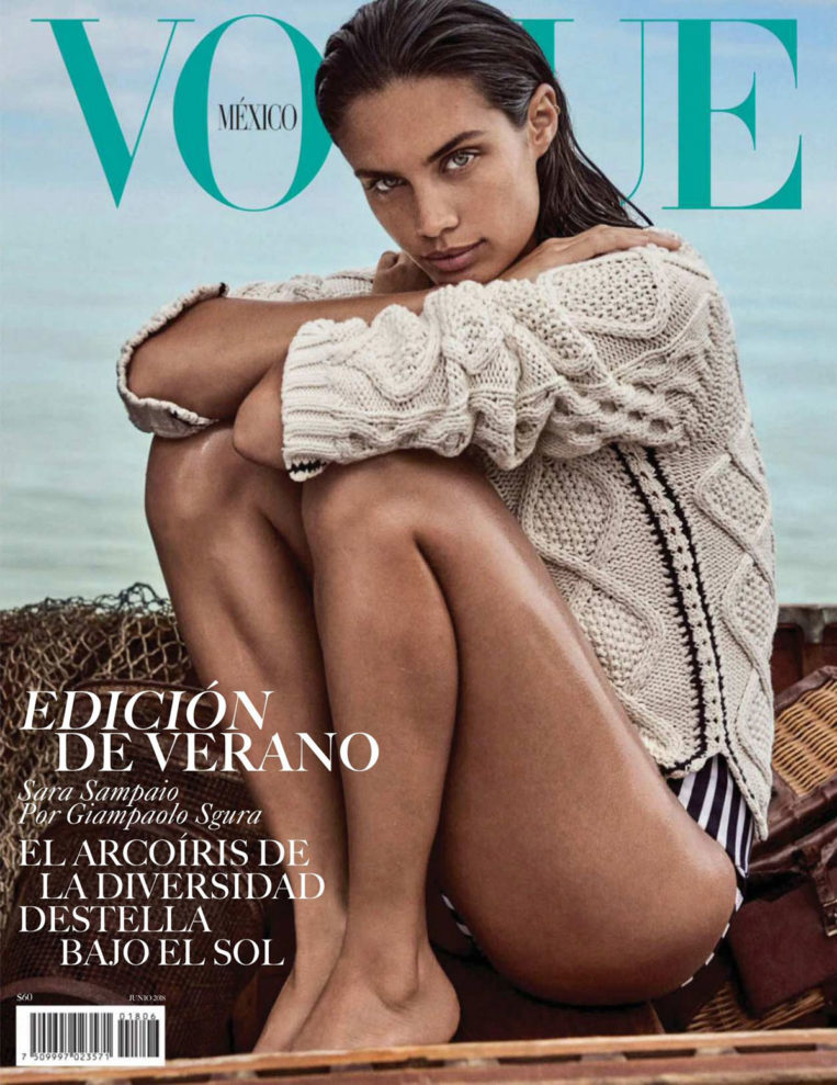 Sara Sampaio in Vogue Magazine (Mexico June 2018)