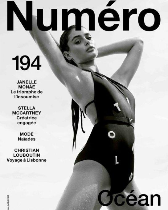 Taylor Hill in Numero Magazine (June 2018)