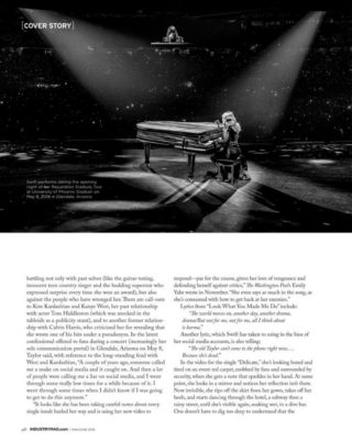 Taylor Swift in Industry New Jersey Magazine (May/June 2018)