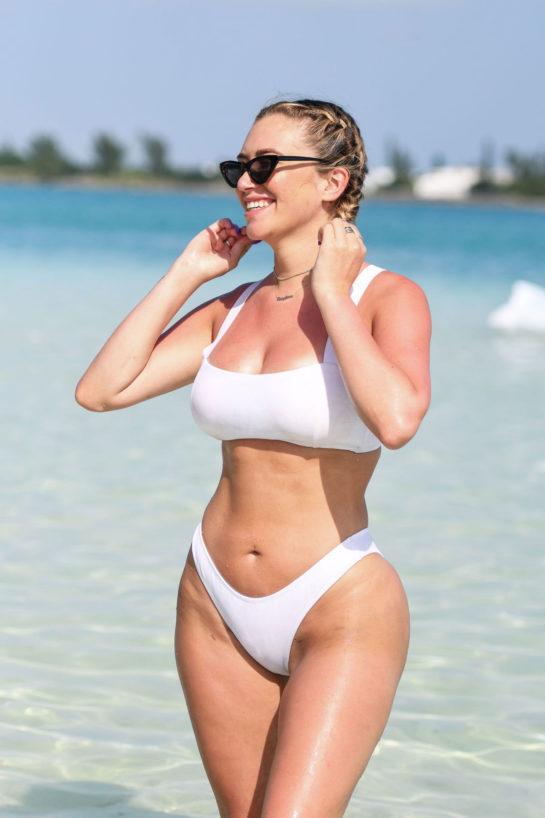 Anastasia Karanikolaou in Bikini at Revolve Summer Event in Bermuda