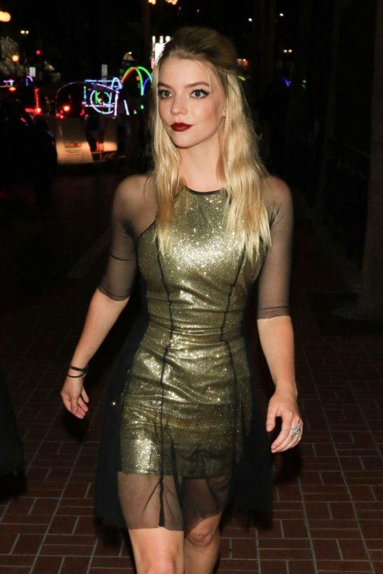 Anya Taylor-Joy Night Out in San Diego