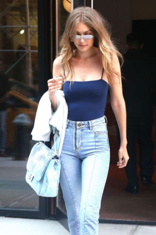 Gigi Hadid – Out in New York City