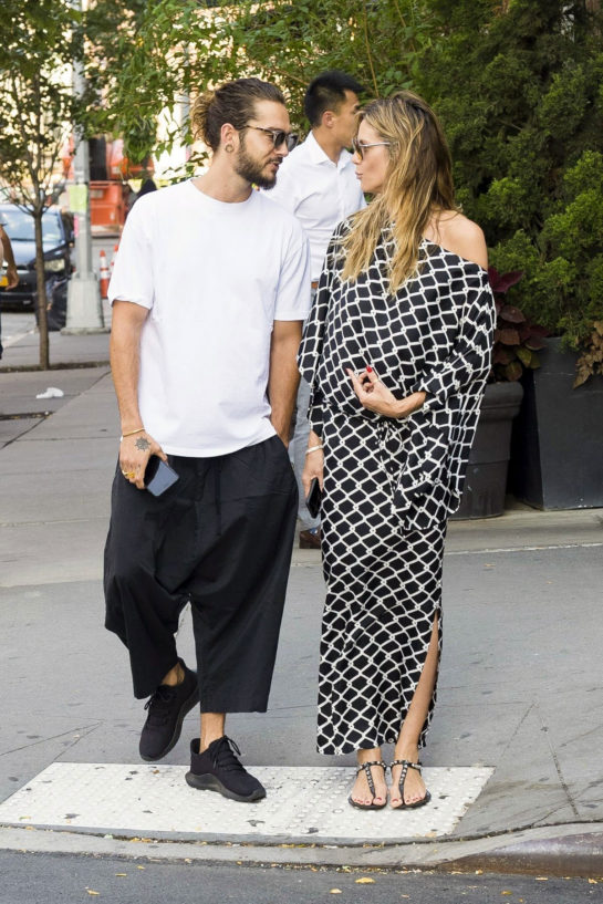 Heidi Klum and Tom Kaulitz Out in Los Angeles