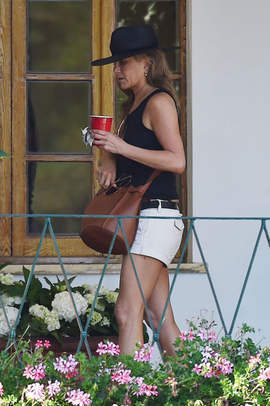 Jennifer Aniston Out in Portofino