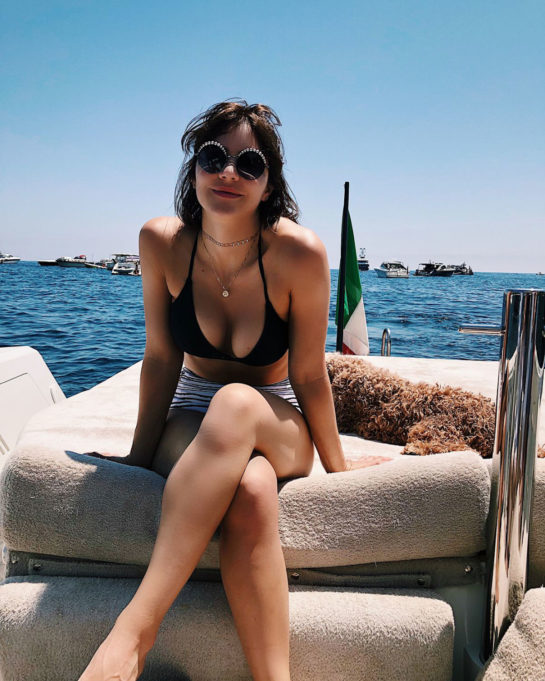 Katharine McPhee in Bikini Top (Instagram Pictures)