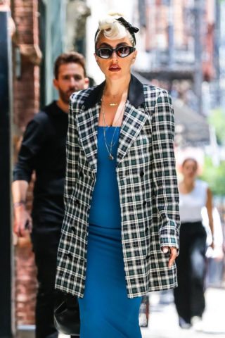 Lady Gaga Leaves a Boutique in New York