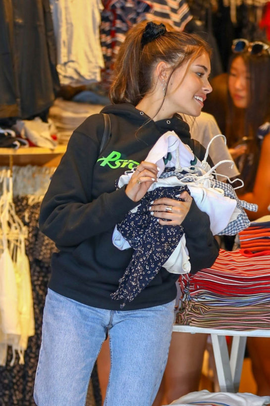 Madison Beer Out Shopping in Los Angeles