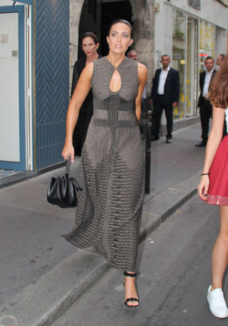 Mandy Moore Out in Paris