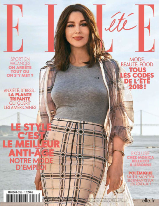 Monica Bellucci in Elle Magazine (France July 2018)