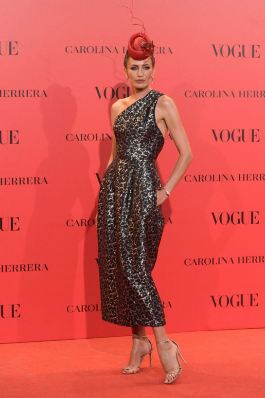 Nieves Álvarez at Vogue Spain 30th Anniversary Party in Madrid