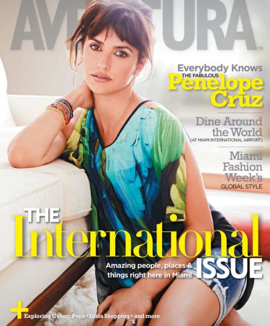 Penelope Cruz in Aventura Magazine (July 2018)