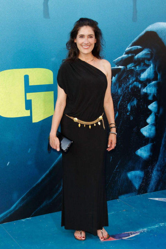 Alicia Coppola at The Meg Premiere in Hollywood