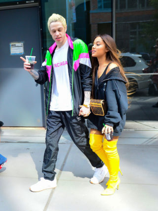 Ariana Grande and Pete Davidson Out in New York