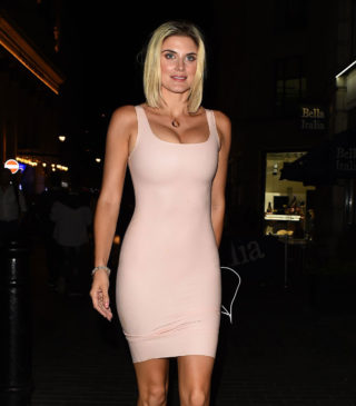 Ashley James Night Out in London